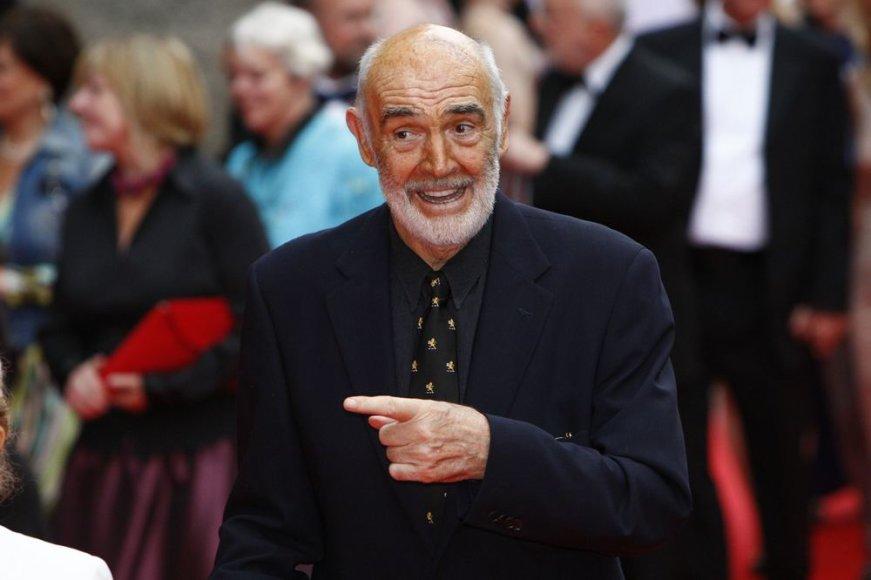 Seanas Connery švenčia 83-iąjį gimtadienį