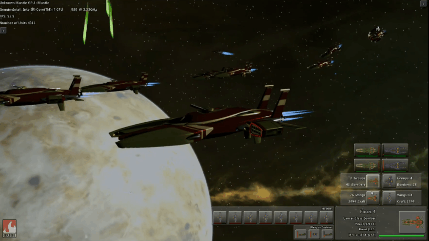 """Naujojo žaidimo """"Star Swarm"""" demonstracija"""