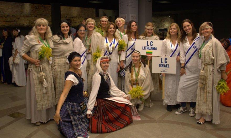 Izraelio ir Lietuvos delegacijos