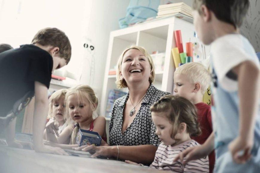 """Ikimokyklinio ugdymo įstaigų tinklo """"Vaikystės sodas"""" vadovė dr. Austėja Landsbergienė"""