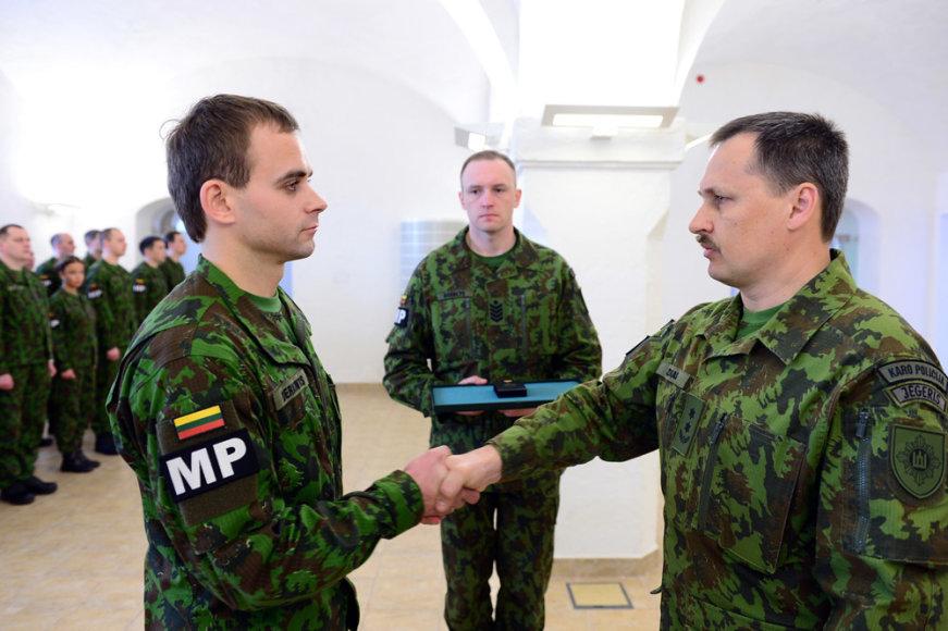 Iš misijos Afganistane grįžusių Lietuvos karių sutikimo ceremonija