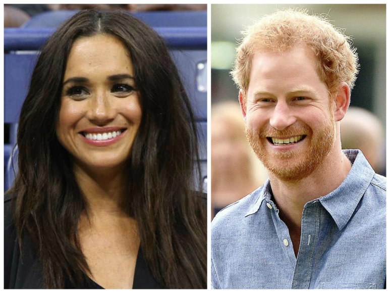 "Vida Press ir ""Scanpix"" nuotr./Meghan Markle ir princas Harry"