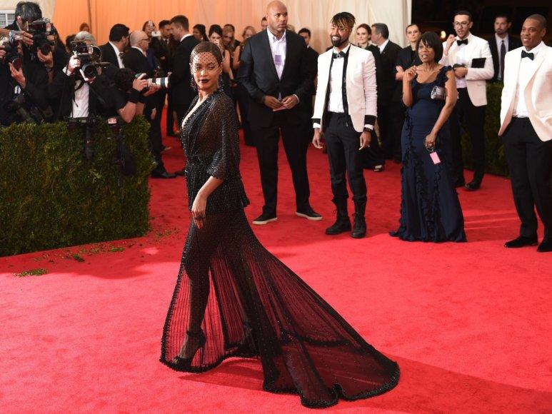 "Beyonce įvaizdis mados renginyje ""Met Gala"""