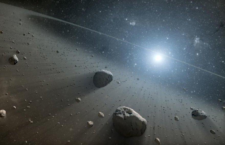 Vegą juosiantis asteroidų žiedas