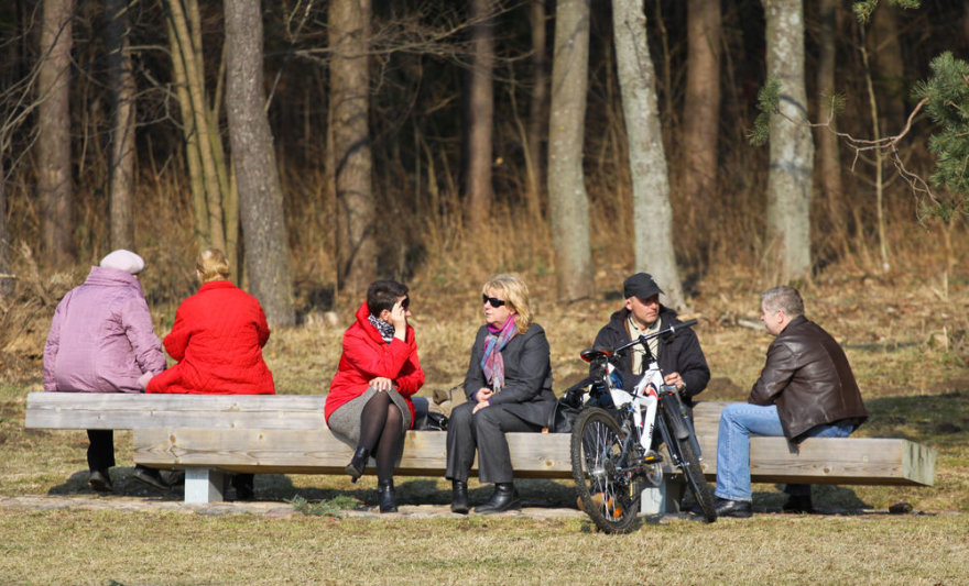 Pavasaris po truputį pradeda šildyti nuo užsitęsusios žiemos pavargusius žmones