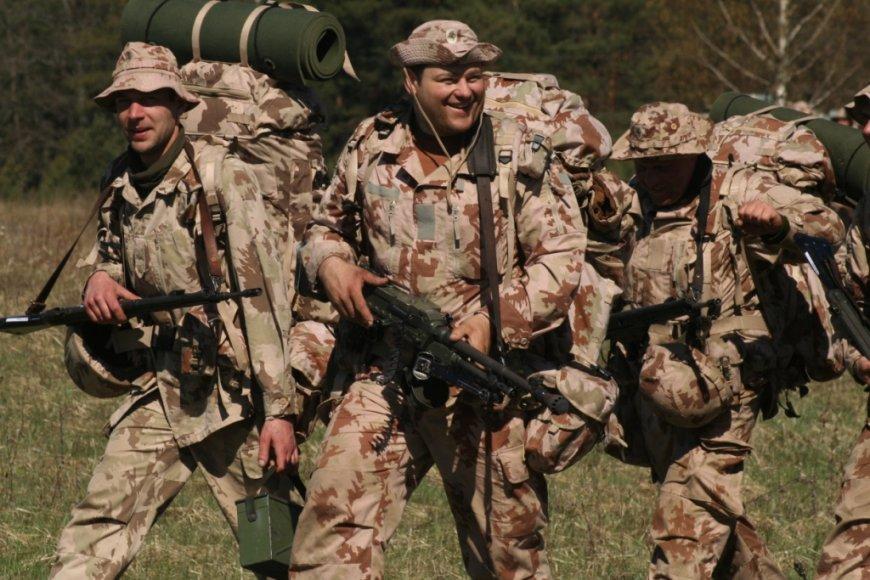 Ulonų batalione karines žinias atnaujino 100 rezervo karių