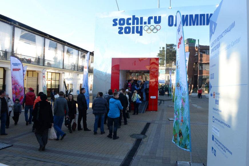 Žiemos olimpiados sostinė Sočis – mietas, kuriame nevyksta varžybos