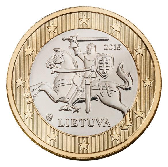 1 euro monetos etalonas