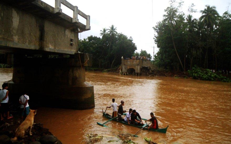 Potvyniai Filipinuose.