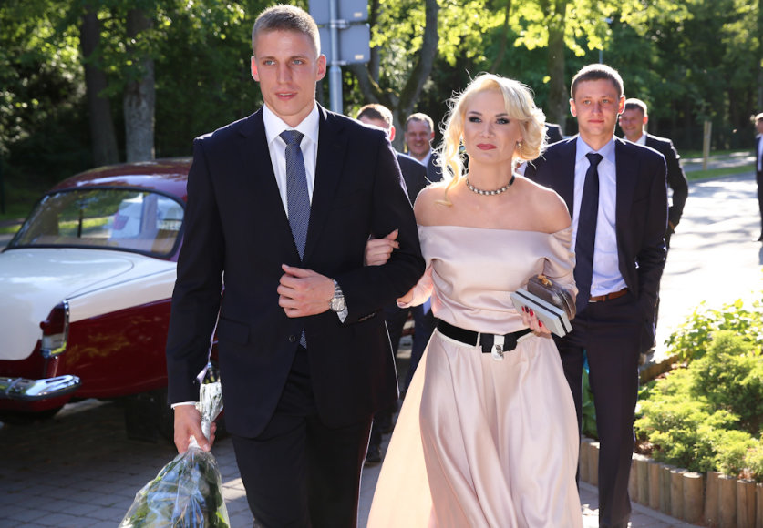 Arvydas Šikšnius ir Natalija Bunkė
