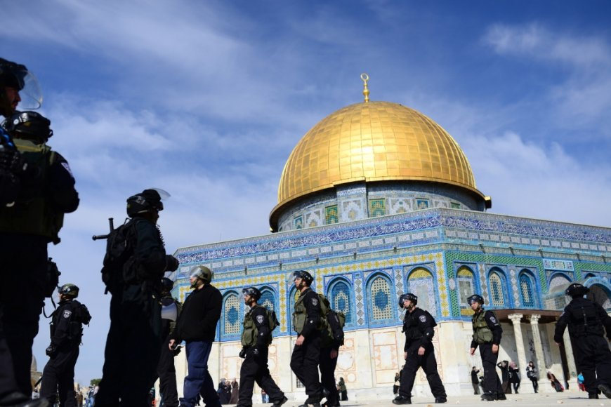 Al Aksos mečetė Jeruzalėje