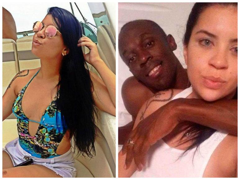 """Scanpix""/Xposurephotos.com nuotr./Naktį su Usainu Boltu praleidusi brazilė Jady Duarte"