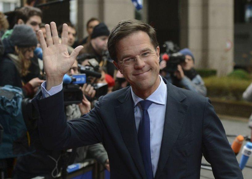 Nyderlandų ministras pirmininkas Markas Rutte
