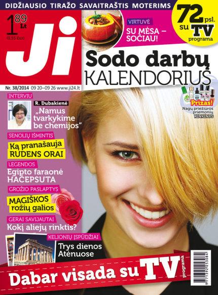 """2014 m. rugsėjo mėnesio žurnalo """"Ji"""" Nr. 38"""