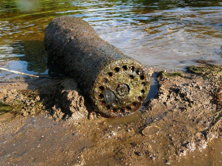 Šešupėje rastas 30 cm Nebelwerfer 42