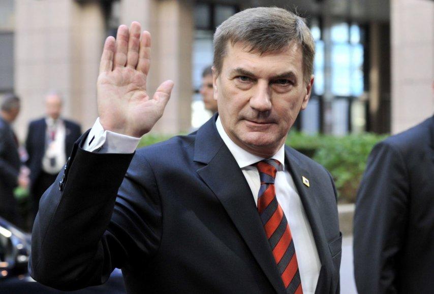 Estijos ministras pirmininkas Andrus Ansipas