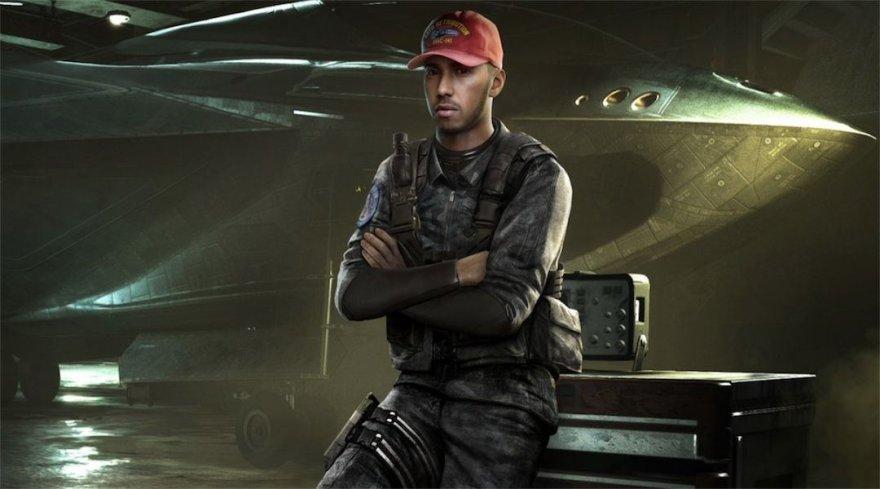 Call of Duty: Infinite Warfare žaidime pasirodys Lewisas Hamiltonas