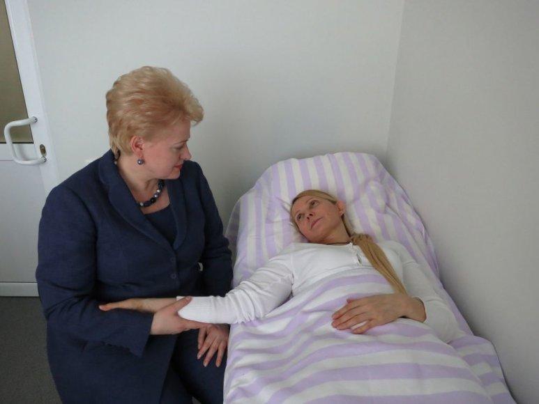Dalia Grybauskaitė ir Julija Tymošenko