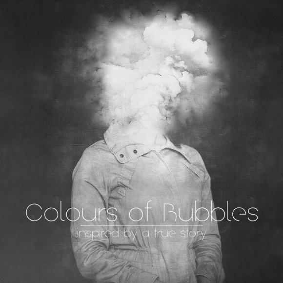 """""""Colours of Bubbles"""" viršelis"""