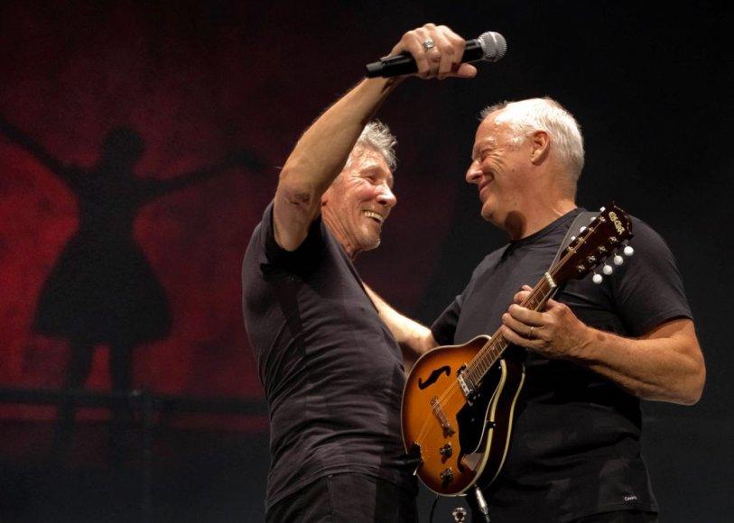 Rogeris Watersas ir Davidas Gilmouras