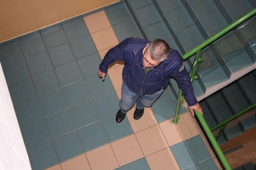 Už mirtimi pasibaigusios avarijos sukėlimą teisiamas Edvinas Jurkus iš teismo salės bėgte išbėgo.
