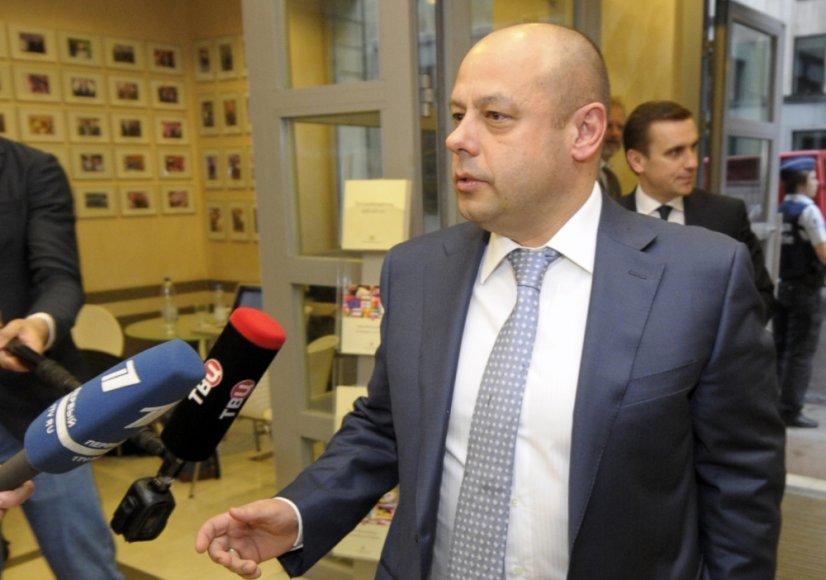 Ukrainos energetikos ir anglies pramonės ministras Jurijus Prodanas