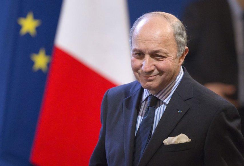 Prancūzijos užsienio reikalų ministras Laurent'as Fabiusas