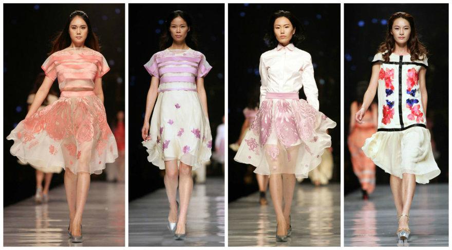 """""""Kristi Andress"""" kolekcijos pristatymas Kinijoje"""
