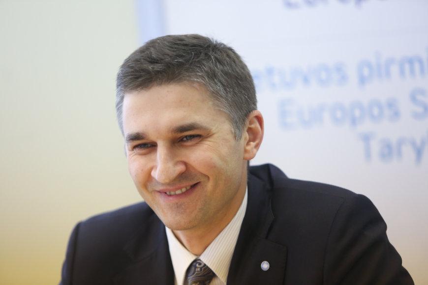 Energetikos ministras Jaroslavas Neverovičius