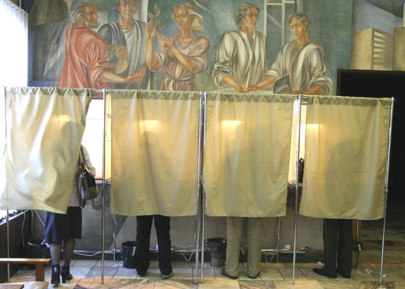 Rinkimai Šiauliuose