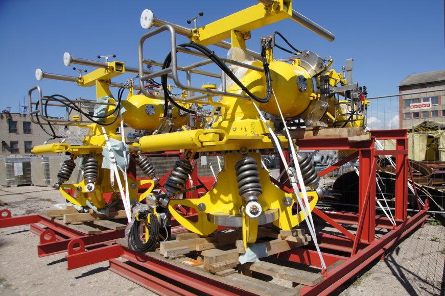 Surinktos aukšto slėgio dujų perdavimo rankovės
