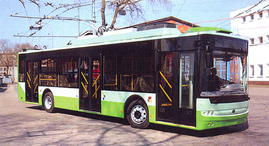 Naujasis troleibusas kursuos 14-uoju maršrutu