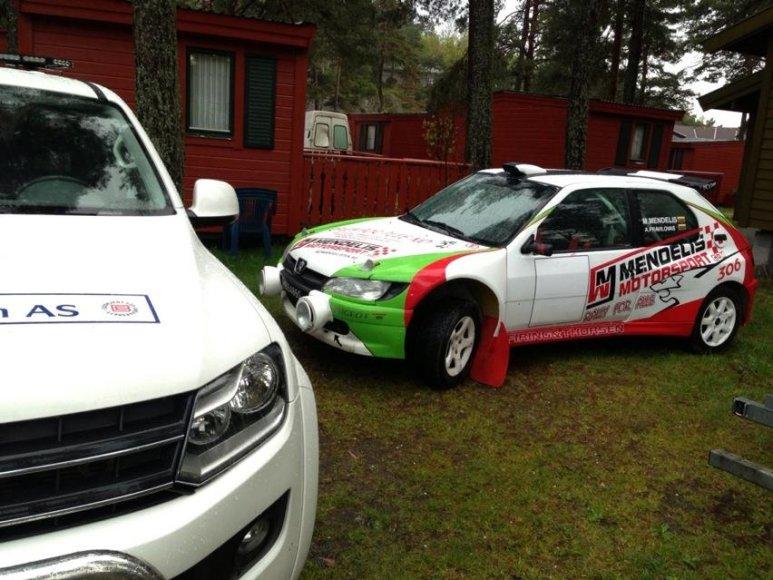 Norvegijos lietuviai ralio varžybose