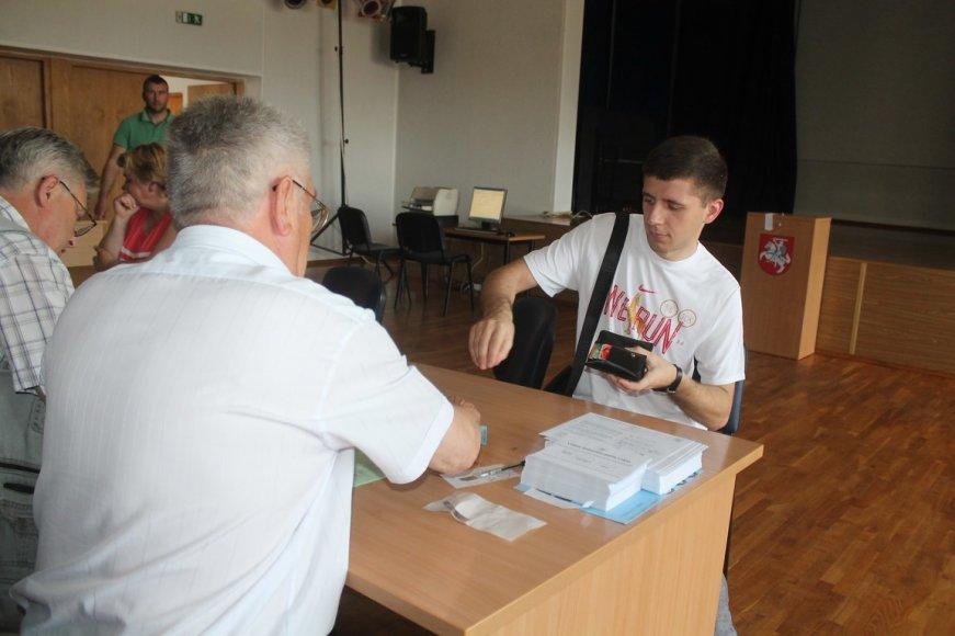 Balsavimas Panevėžio rajono savivaldybėje