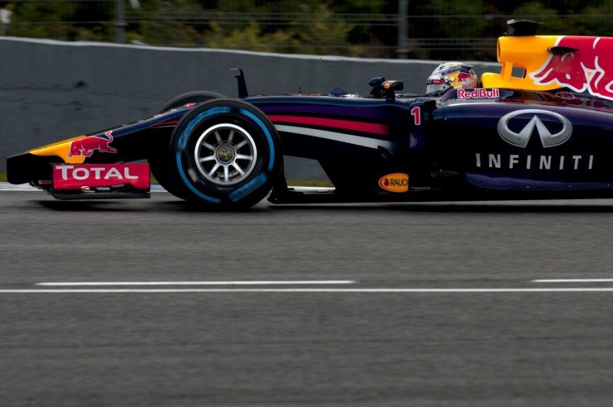 F-1 bolidų bandymai Jereze