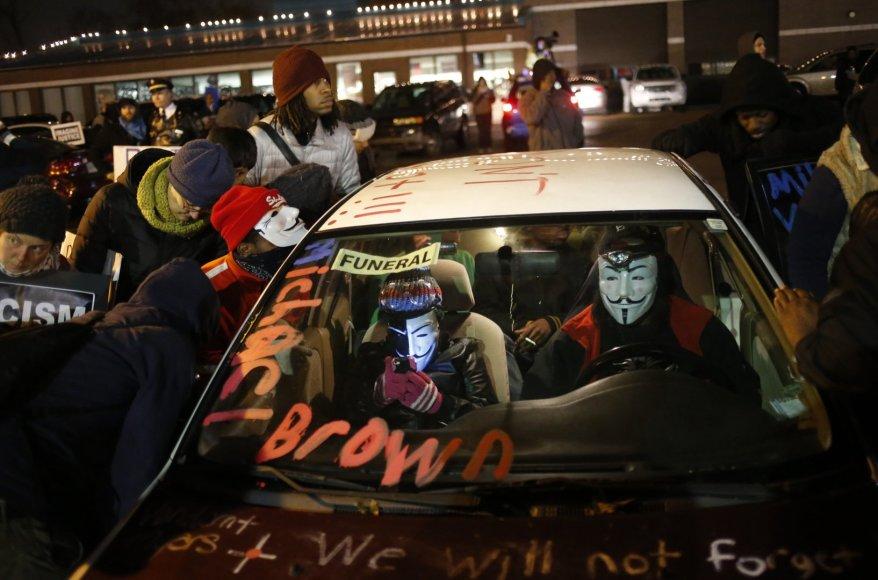 Protestuotojai Fergusone (JAV)