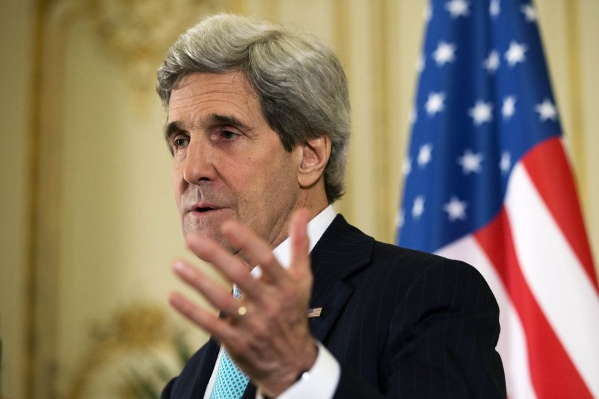 JAV sekretorius Johnas Kerry