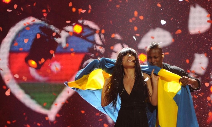 Švedijos atstovės Loreen triumfas