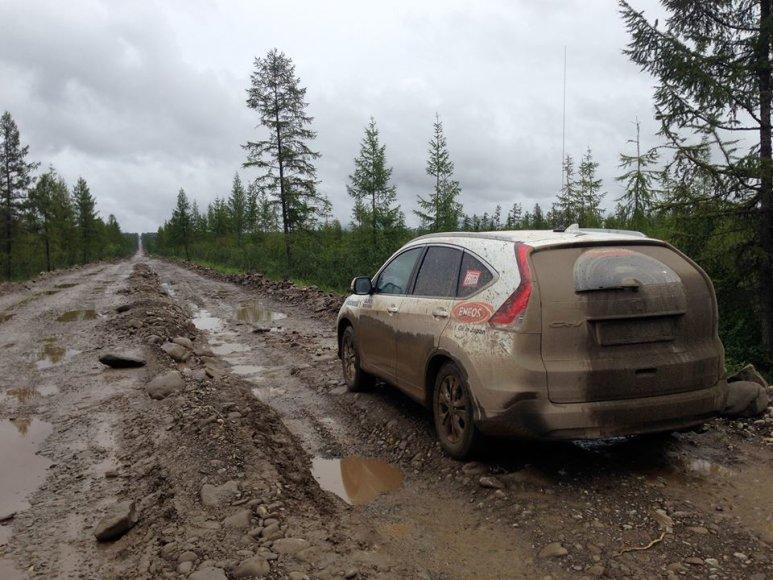 Kelias Jakutijoje (Rusija)