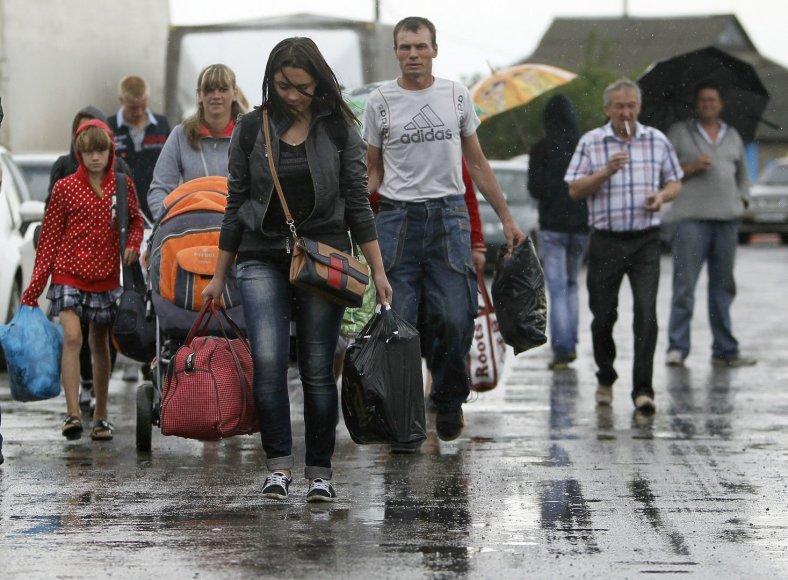 Ukrainos pabėgėliai