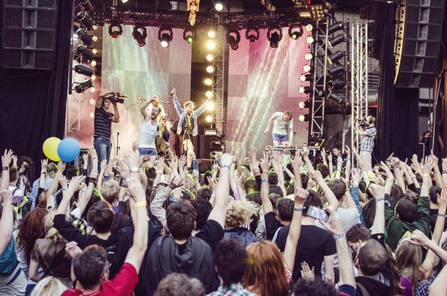 """""""Loftas Fest"""" atmosfera / Festivalio organizatorių nuotr,"""
