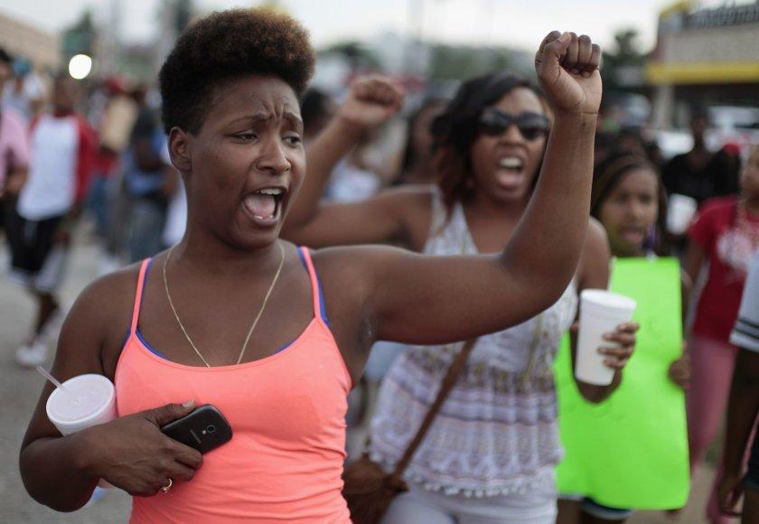 Riaušės Fergusone