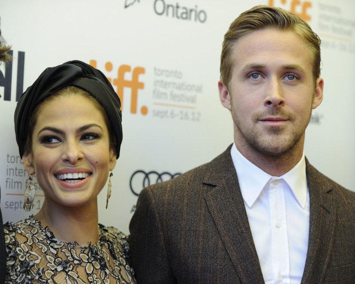 Eva Mendes ir Ryanas Goslingas