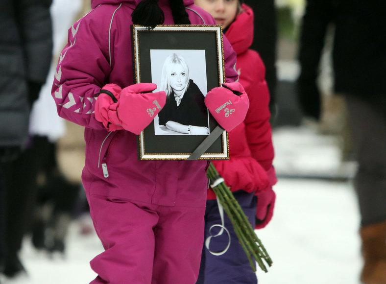 Viltės Stankutės-Butkienės laidotuvės