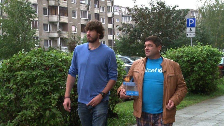 Simas Jasaitis ir Vitalijus Cololo