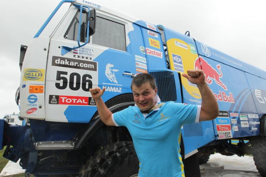 Vaidotas Paškevičius Dakaro ralyje