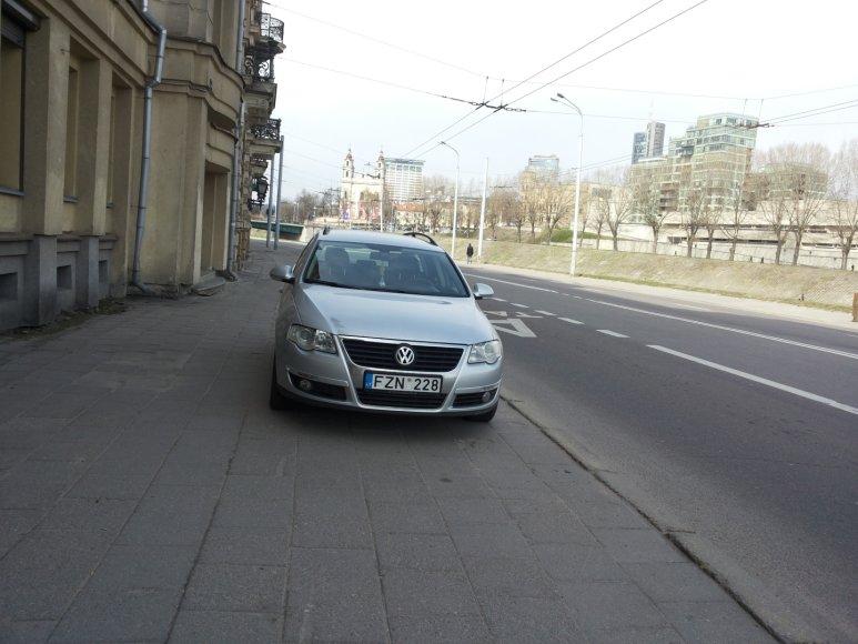 Fotopolicija, VW parkavimas