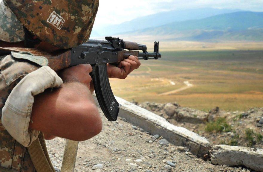 Armėnų karys Kalnų Karabache
