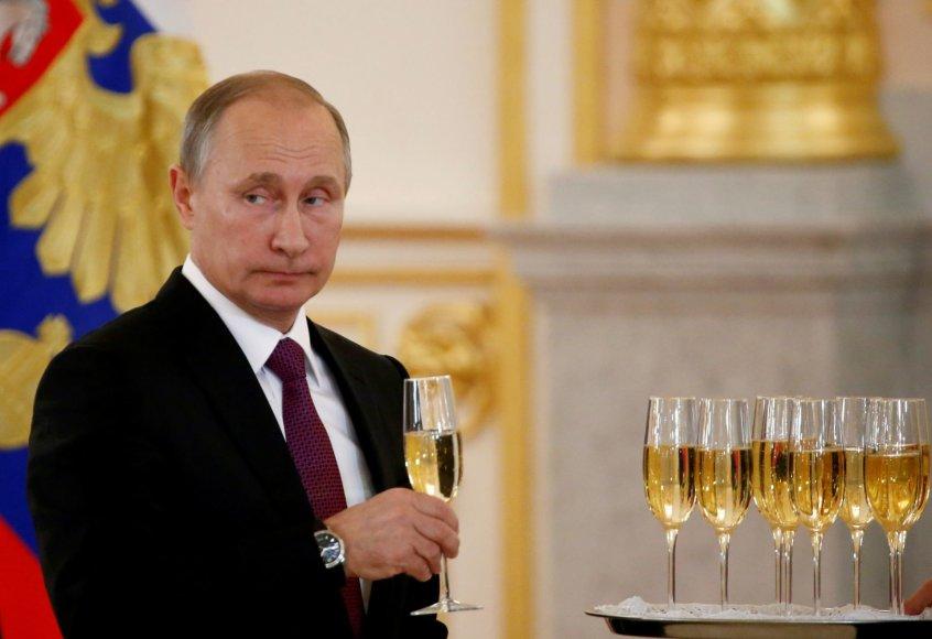 1. Vladimiras Putinas – Rusijos prezidentas