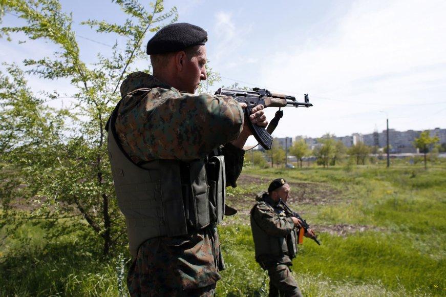 Ukrainos kariai Mariupolio pietrytinėje dalyje